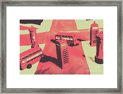 Old Tourism Uk Framed Print