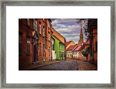 Old Town Bratislava  Framed Print by Carol Japp