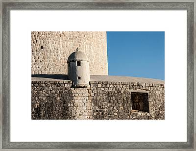 Framed Print featuring the photograph Old Town Dubrovnik by Silvia Bruno