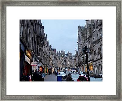 Old Town Edinburgh Framed Print