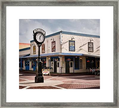 Old Town - Kissimmee - Florida Framed Print