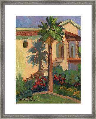 Old Town La Quinta Palm Framed Print