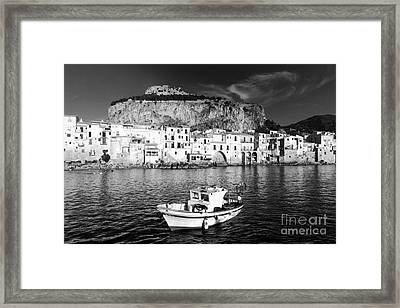Old Town Of Fishermen Framed Print