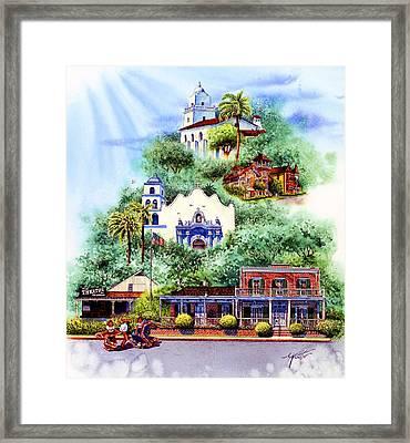 Old Town San Diego Framed Print