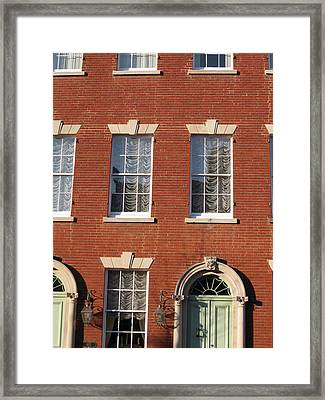 Old Town Framed Print by Sean Owens