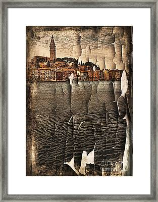 Old Town Framed Print by Svetlana Sewell