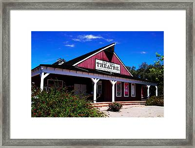 Old Town Theatre - San Diego Framed Print