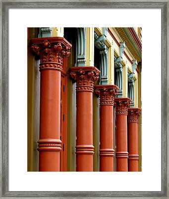Old Towne Portland Framed Print by Sonja Anderson
