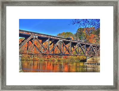 Old Tracks Framed Print by Robert Pearson