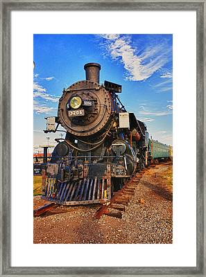 Old Train Framed Print by Garry Gay