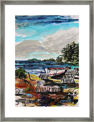Old Traps Framed Print by John Williams