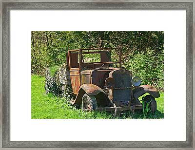 Old Truck II C1002 Framed Print by Mary Gaines