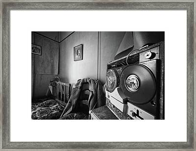 Old Tunes -abandoned Building Framed Print by Dirk Ercken