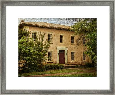 Old Tuscaloosa Jail Framed Print by Phillip Burrow