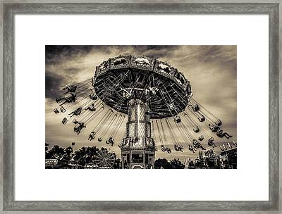 Old Tyme County Fair Framed Print