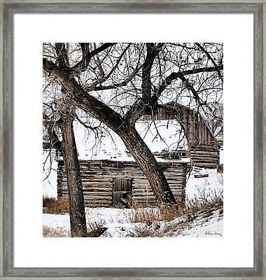 Old Ulm Barn Framed Print