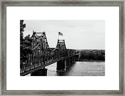 Old Vicksburg Bridge Framed Print