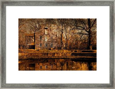 Old Village - Allaire State Park Framed Print by Angie Tirado
