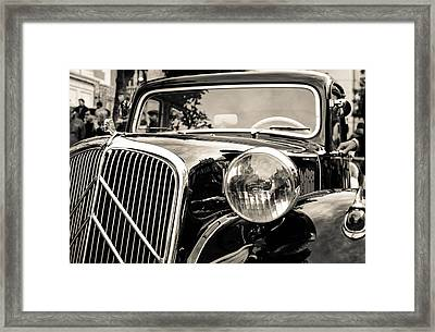 Citroen Traction Avant Framed Print