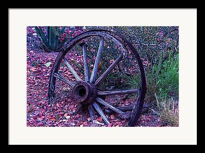 Wooden Wagons Photographs Framed Prints