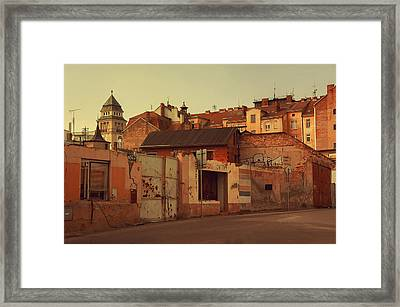 Old Walls Of Znojmo Framed Print
