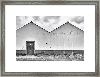 Old Warehouse Exterior Framed Print
