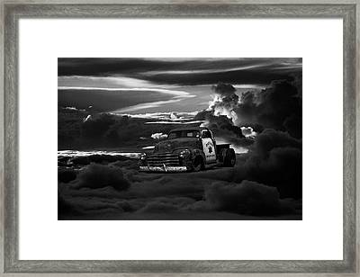 At The Gates Of Valhalla Framed Print by Daniel Furon