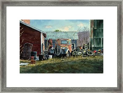 Old Warwick Framed Print