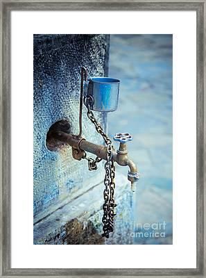 Old Water Tap Framed Print by Gabriela Insuratelu