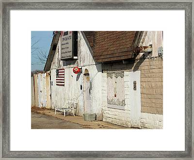 Old Welding Shop Framed Print by Scott Kingery