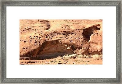 Framed Print featuring the photograph Old West Condo by Fred Wilson