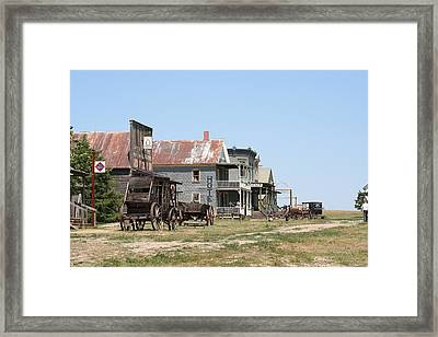 Old West Framed Print by Gregory Jeffries
