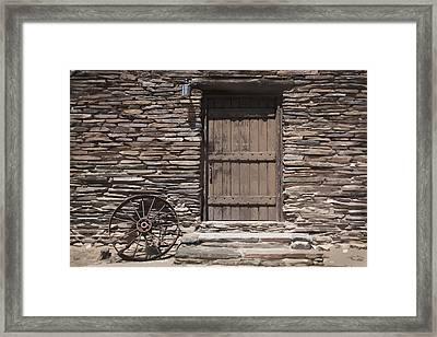 Old West Framed Print by Kelley King