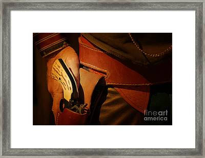 Old West Framed Print by Ronald Hoggard