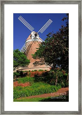 Old Windmill Framed Print by Kathleen Struckle
