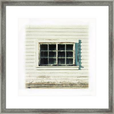 Old Window 1 Framed Print by Priska Wettstein