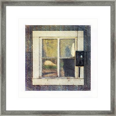 Old Window 3 Framed Print by Priska Wettstein