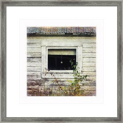 Old Window 6 Framed Print by Priska Wettstein
