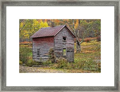 Old With Character Framed Print