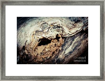 Old Wood Abstract Vintage Texture Artmif Framed Print