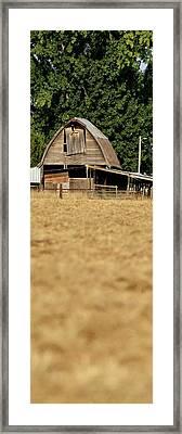 Old Wooden Barn Framed Print