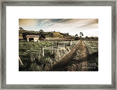 Old Wooden Shed Framed Print by Jorgo Photography - Wall Art Gallery