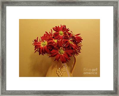 Old World Bouquet Framed Print by Marsha Heiken