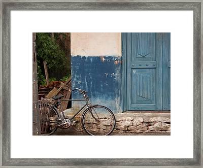 Old World Charm Framed Print by Kathryn Blackman