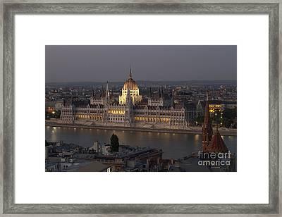 Old World City Framed Print by David Buffington