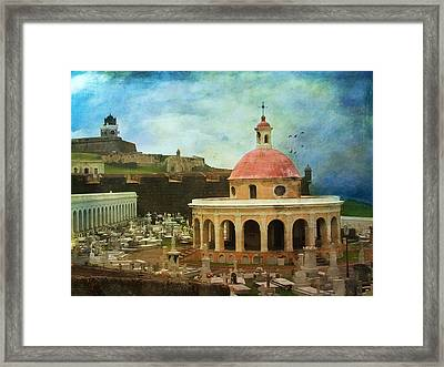 Framed Print featuring the photograph Old World by John Rivera