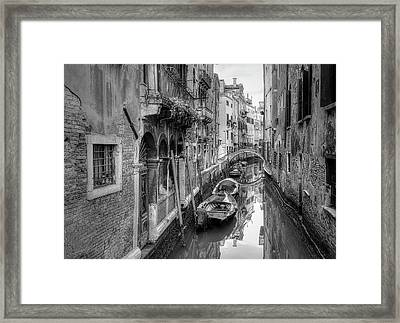 Old World Framed Print