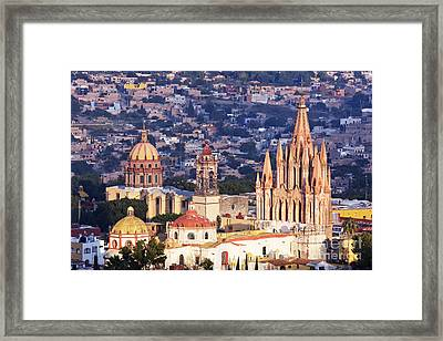 Old World Skyline Framed Print by Jeremy Woodhouse