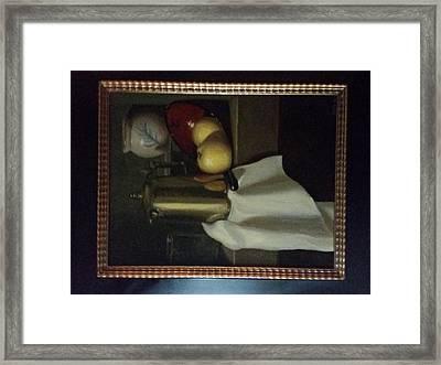 Old World Still Life Framed Print by Julia De Vries