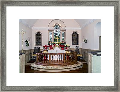 Old Wye Episcopal Church Framed Print by Brian Wallace
